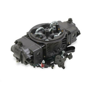 Holley Carburetor 0 80803hbm 750 Cfm 4 Barrel No Choke Hard Core Gray Black