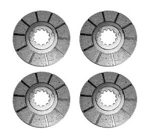 4 Brake Discs Fits Case Ih Ihc International Harvester 2656 656 664 666 686 Hydr
