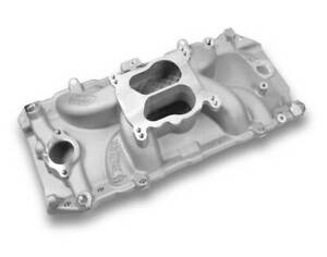 Weiand Street Warrior Intake Manifold Peanut Port For Chevy Big Block V8