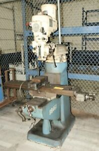 1 5 Hp Bridgeport J Head Vertical Milling Machine Yoder 64490