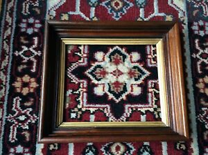 Antique Gold Trim Deep Walnut Picture Frame 10x12 Eastlake Shadow Box Victorian