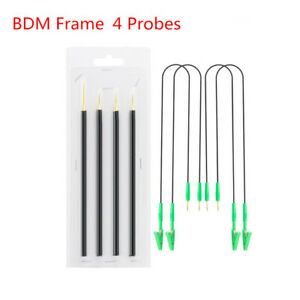 4pcs Set Bdm Frame 4 Probes With Cable Replacement Needles Frame Ecu Programmer