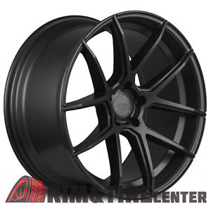 Avid1 Sl02 20x10 38 5x114 3 Matte Black Mustang G37 370z Q50 Is250 Wrx Gs300
