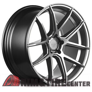 Avid1 Sl02 20x10 38 5x114 3 Hyper Black Mustang G37 370z Q50 Is250 Wrx Gs300