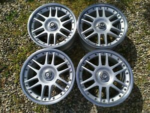 Rare 17 Oz Racing For Bmw F1 E34 E39 E46 E38 2 Piece Forged Typ002 51 Wheels