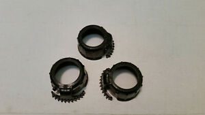 Qty 3 New Wedco Screw Caps 84004cr Replacement Collars Gas Can Parts