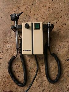 Welch Allyn Wall Diagnostic Set Ophthalmoscope Otoscope Model 74710 No Heads