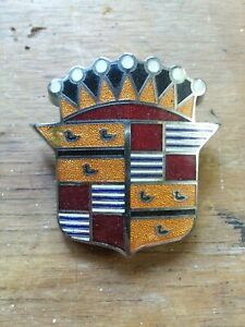 1948 49 Cadillac Hood Emblem An Unmolested Original In Very Good Condition
