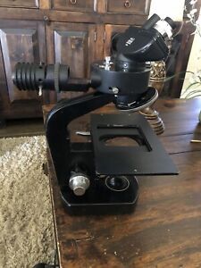 Wild Heerbrugg M20 49931 Microscope With 1 4x Vertical Illuminator And Head