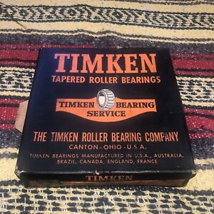 Timken Tapered Roller Bearings new nos 36686 Cone 4 24