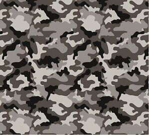 Hydrographic Water Transfer Hydrodipping Film Hydro Dip Army Camo Grey 1sq