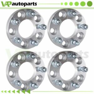 1 4pcs Wheel Spacers 5x4 5 5x114 3 For Ford Explorer Mustang Mazda B3000