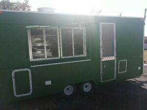 7 X 14 Mobile Kitchen Food Concession Trailer For Sale In Houston Texas Area
