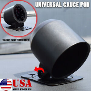2inch 52mm Universal Single Gauge Pod Mount Holder Swivel Car Meter Cup