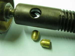 Locking Brass Bullets For Your Vintage Delta Jointer Elevation Adjustment Shafts
