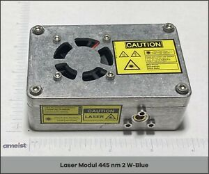 445 Nm 2w Focusable Blue Laser Module For Engraving Cutting And Marking
