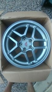 4 Corvette Wheels Front Rear 17x9 5 18x10 5 Oem C5 Z06 97 04 Speedline Vette