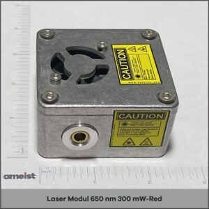650 Nm 300mw Focusable Red Laser Module For Engraving Cutting And Marking