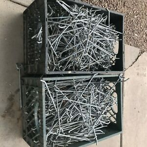 Metal Pegboard Hooks For Retail 8 Used Bulk Sale