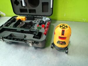 Pacific Laser Systems Hvl 100 Hvl 100 Line Cross Plumb Laser Level Tool Dam
