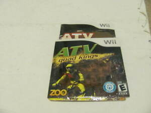 Nintendo Wii ATV: Quad Kings Game BRAND NEW SEALED IN SLEEVE