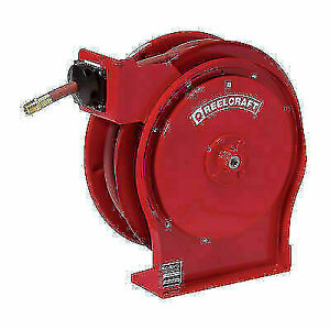 Reelcraft 7850 Olp Spring Retractable Hose Reel 1 2 X 50 Ft