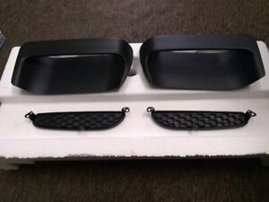 1971 73 Ford Mustang Nasa Hood Scoops With Inserts New Wo Mounting Studs And Nut