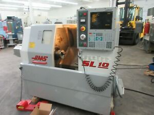 Haas Sl 10t Cnc Turning Center With Hydraulic Tailstock For Sale