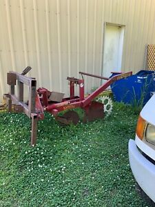 Silt Fence Machine Plow With A Offset Adapter Fit Cat 1 2 3 Point Hitch