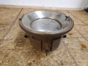 1909 13 Brass Model T Era Solar Large Brass Headlight With Reflector