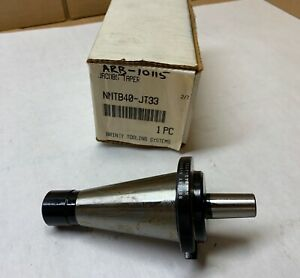 Briney Tooling Nmbt40 1 8 Jacobs Taper End Mill Holder Nmbt jt33 New