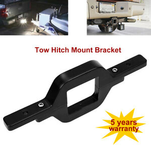 Tailer Tow Hitch Mounting Bracket Reverse Backup Fr Led Work Light Bar Cube Pods
