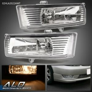 Pair For 2005 2006 Toyota Camry Front Bumper Driving Fog Lights W Switch Wires