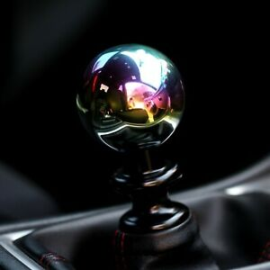 Ssco Neo Chrome Sr 55mm 190 Grams Weighted Shift Knob Shifter Sphere