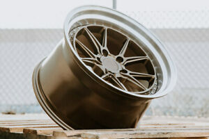 Aodhan Ds08 18x9 5 30 18x10 5 22 5x114 3 Bronze Is250 Sc430 Gs300 Rx7 Rx8 G35