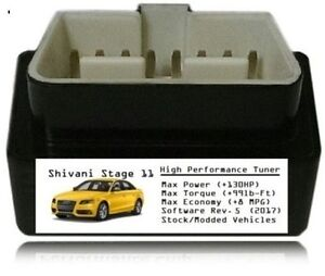 Stage 11 Performance Power Tuner Chip Add 130 Hp 8mpg Obd Tuning For Vw
