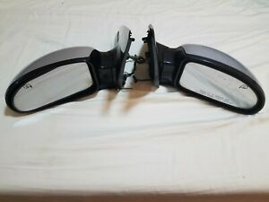 2002 2003 2004 Silver Ford Focus Svt Folding Heated Side Mirrors