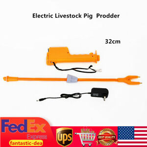 Electric Livestock Cattle Pig Prod Animal Prodder Rechargeable Shaft Length 32cm