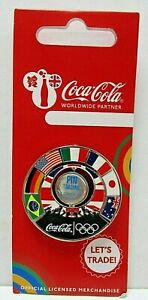 VERY RARE Coca Cola 2012 London Olympic LETS TRADE Pin