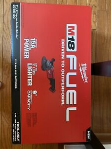 New Sealed Milwaukee 2785 20 M18 18v Fuel Brushless 7 9 Large Angle Grinder