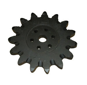 15t Drive Sprocket 1 2 Bolt Holes 6959080 Fits Bobcat Trencher Lt313