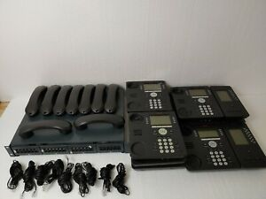 Avaya Ip Office 500v2 Business Phone System 9 Phones