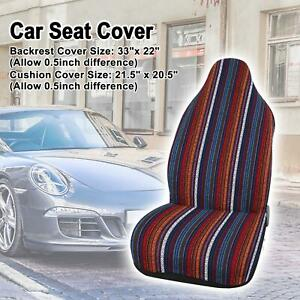 Baja Blanket Car Suv Automotive Front Bucket Seat Cover Pad