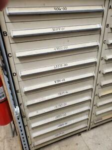Used Stanley Vidmar Storage Cabinet 30 Wide X 59 Tall X 32 Deep