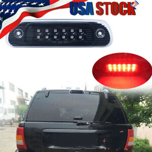 For 1999 2004 Jeep Grand Cherokee Rear High Mount Led 3rd Brake Cargo Tail Light