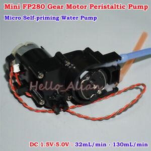 Dc 1 5v 5v 3v Small Mini Peristaltic Pump Micro Self priming Water Suction Pump