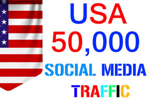 Unlimited Organic Keyword Target Web Site Traffic From Usa Social Media For 8