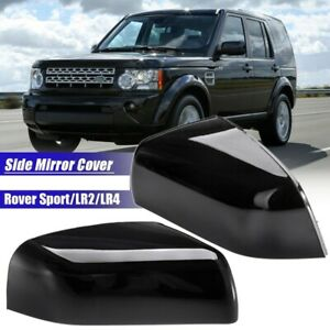 3x pair Wing Side Mirror Cover Gloss Black For Land Rover Range Rover Sport I5b5