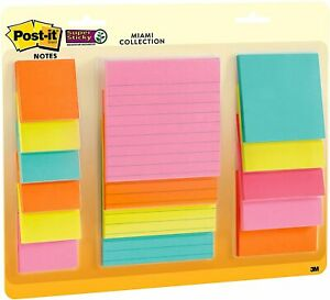 15 Pads Post it Super Sticky Notes Lined Note Pads Memo Notepads