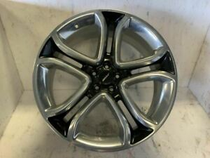 Wheel 22x9 5 Split Spokes Polished Aluminum Fits 11 14 Edge 860750